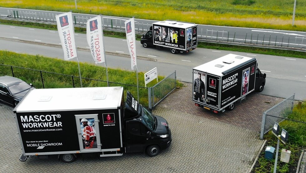 Auto's - MASCOT® Mobile Showroom