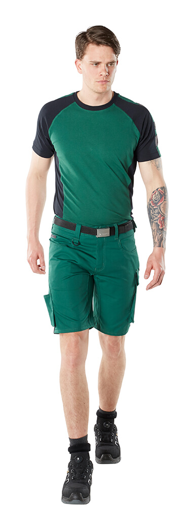 Shorts & T-shirt - Groen - Man